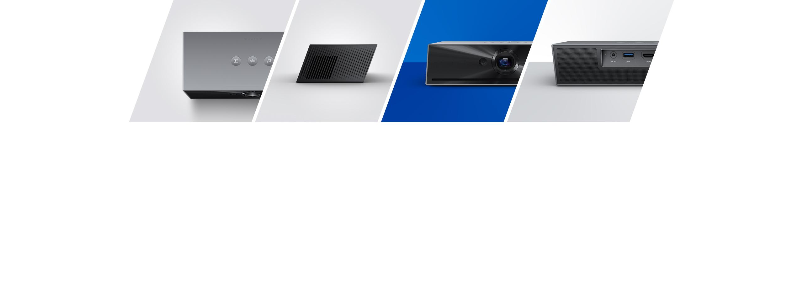 微鲸55寸曲面电视