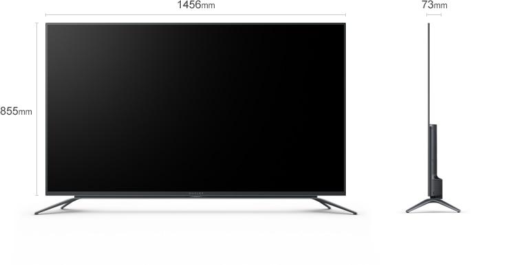 微鲸55英寸曲面电视参数